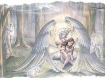 Как вызвать ангела хранителя и обратиться за помощью?