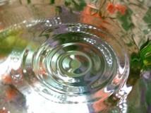 Гладь воды после капли