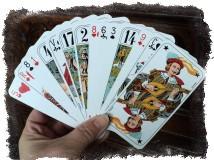 Общее обозначение игральных карт при гадании