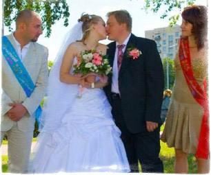 Приметы на свадьбе для свидетельницы, свидетеля