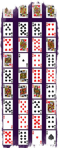 Гадание на игральных картах на парня