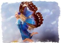 Как стать феей с крыльями?