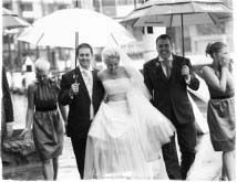 Дождь на свадьбу — приметы