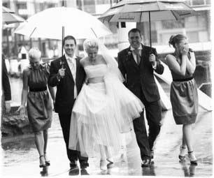Дождь на свадьбу - приметы