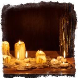 гадание на свечах на парня