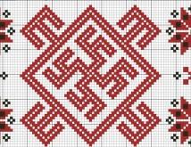 Вышивка крестом — схемы оберегов