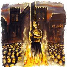 сожжение на костре