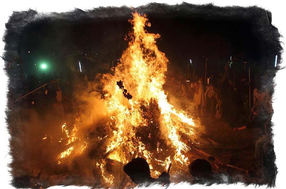 сожжение ведьм