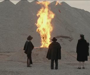 сжечь ведьму