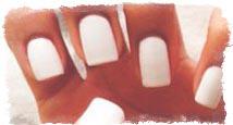 форма ногтей характер
