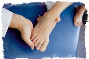 длинные пальцы на ногах