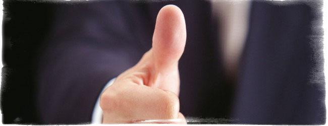 большой палец хиромантия