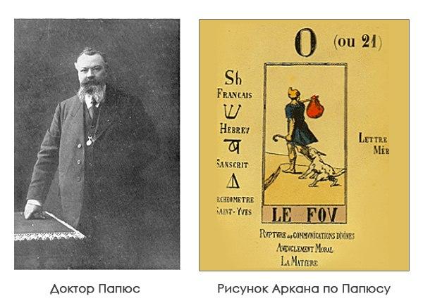 астрологические соответствия папюс
