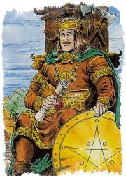 король пентаклей таро значение