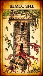 башня перевернутая таро