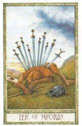 десятка мечей таро значение