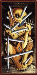 значение карты таро десятка мечей