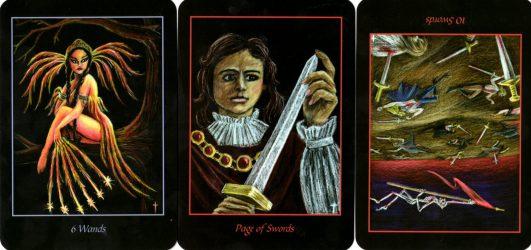 десятка мечей в школе золотого таро видео