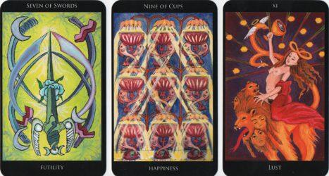 значение карты таро девятка кубков