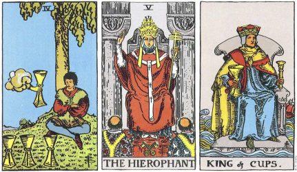 король кубков сочетание таро