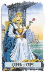 королева кубков таро