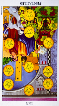 The simplest fortune telling on the tarot
