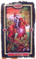 значение карты таро рыцарь жезлов
