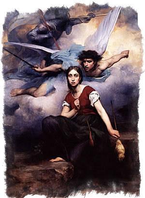 молитва архангелу михаилу на каждый день Жанне Д'Арк