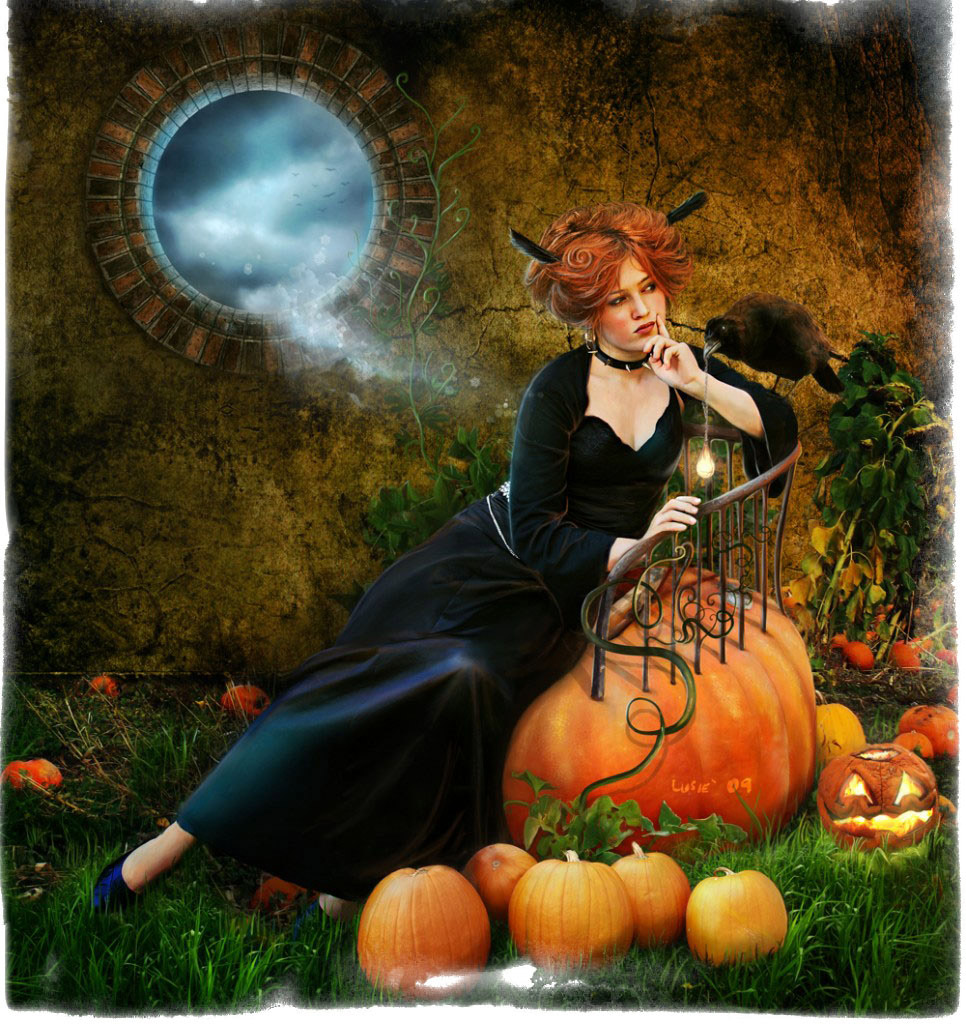 Обряды и гадания на Хэллоуин — узнать свое будущее и изменить его