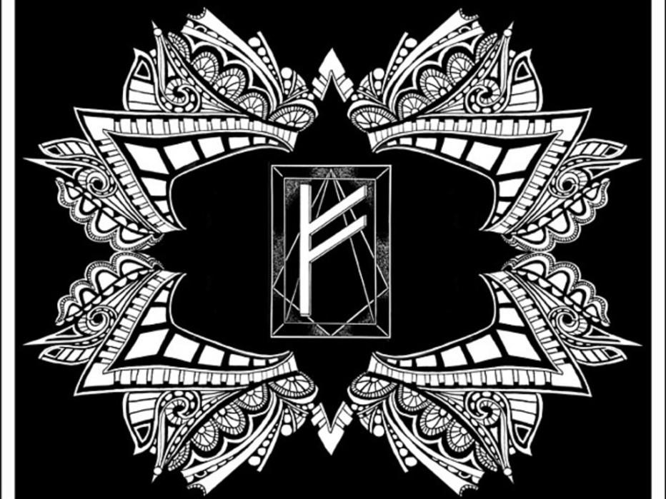 Руна Феху — используем ее значение в гадании и магии богатства