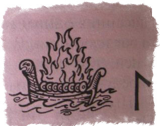 Руна Лагуз и ее значение в магии и руническом гадании