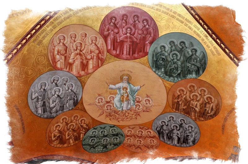 9 ангельских чинов