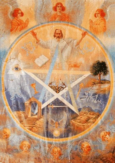 пентаграмма в христианстве