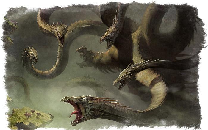 драконы мифические существа