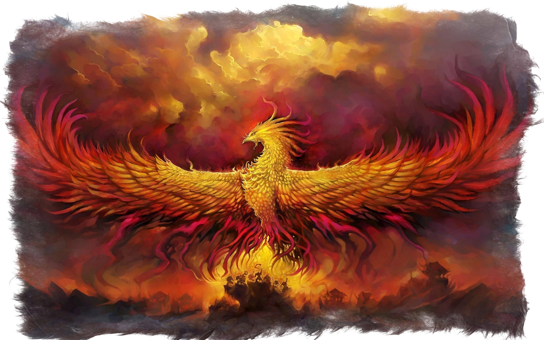 птица феникс легенда