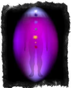 фиолетовая аура значение