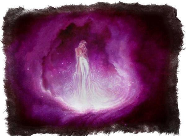 фиолетовая аура человека