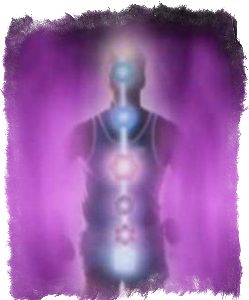 фиолетовый цвет ауры значение