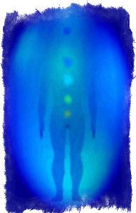 синий цвет ауры