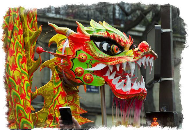 дракон в китайской культуре