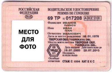 нумерология водительских прав