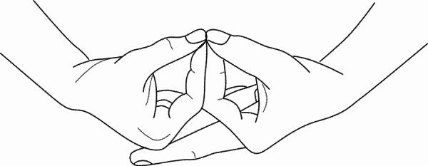 Мудры для медитации и успокоения