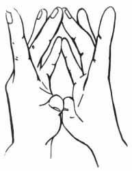 мудра моление о счастье
