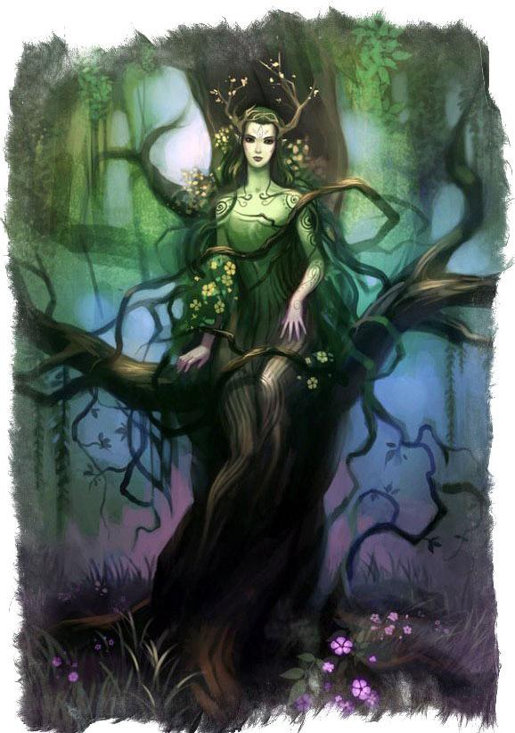 Зеленые дамы