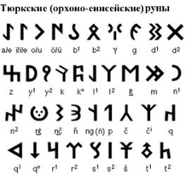 тюркские руны и их значение