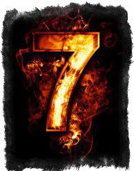 преследует число 7