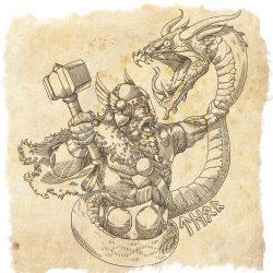 змей мидгарда