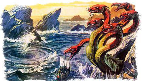 мифические чудовища и харибда