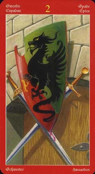 таро драконов галерея