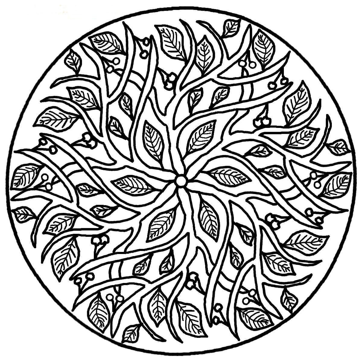 мандала дерева